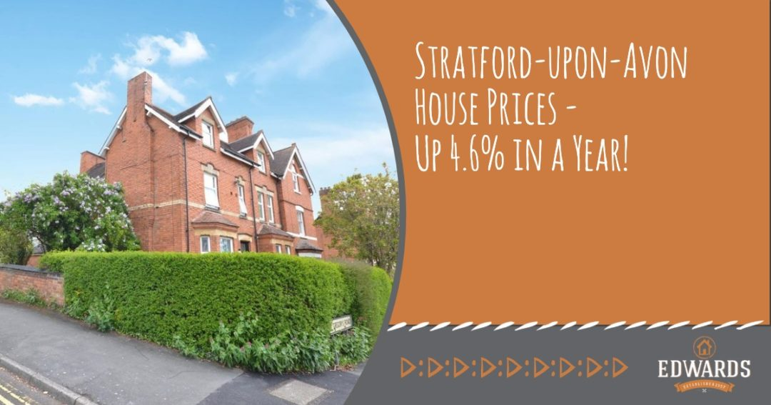 Stratford-upon-Avon House Prices Go Up 4.6% in 2019